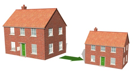 smaller: Downsizing property
