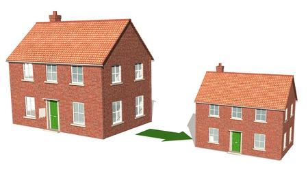 reducing: Downsizing property