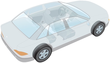 Generic car Vector