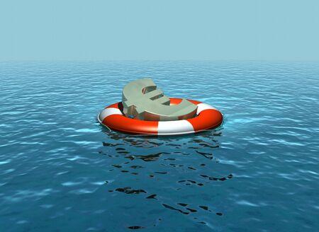 ahogarse: Rescatar el euro