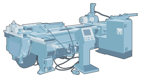 Industrial factory machine 1 Vector