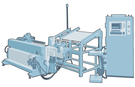 Industrial factory machine 2 Vector