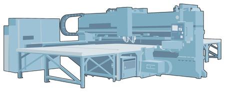 bender: Industrial factory machine 4 Illustration
