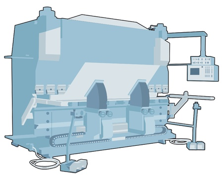 Industrial factory machine 5