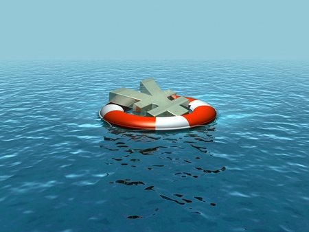 rescuing: Saving, rescuing the yen