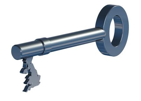 10 key: Steel key to Britain, England