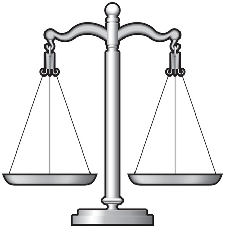 justice scales: weighing Scales, balance