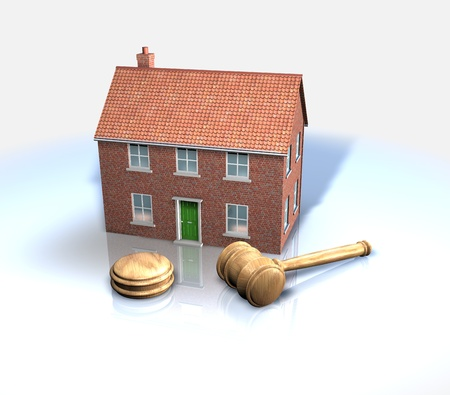 Property sales, estate agents, auctions Stock Photo - 13532706