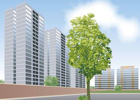 built tower: Apartamentos modernos y de vivienda