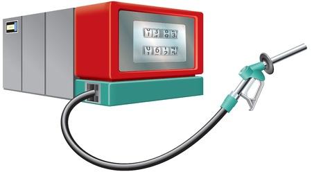 propellant: Fuel pump and nozzle