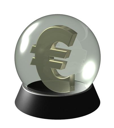 Future of the euro, investments, economy Stock Photo - 13681529