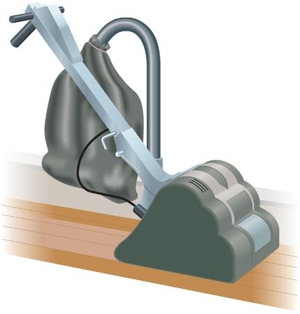 Floor sander Stock Vector - 13703925