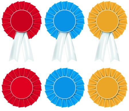 conservatives: Rosettes, political and sporting achievements