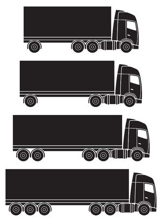 white truck: truck or lorry transport