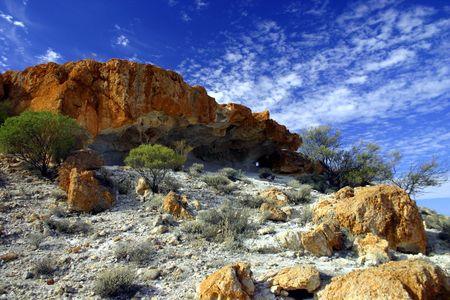 breakaway: Outback Breakaway - Cue Stock Photo
