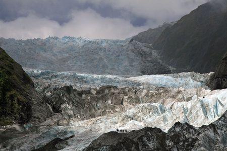 Franz Joseph Glacier Ice Falls
