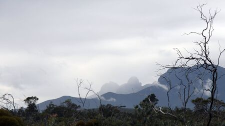 Stormy weather in the Stirling Ranges, Borden, Western Australia