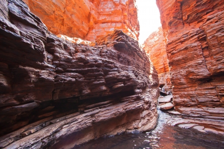 Weano Gorge in the Karijni National Park in the remote North West of Western Australia