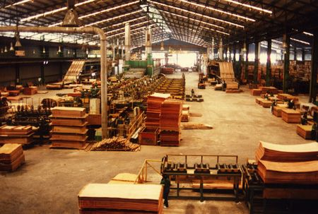 Plywood mill