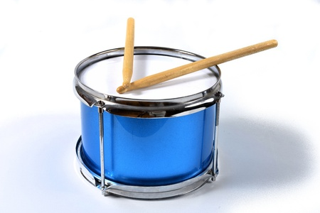 marching band: drum with drumsticks