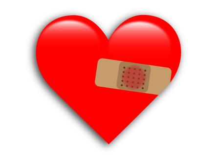 heart valentine Ilustracja
