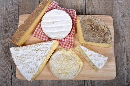 differents cheeses of country  to France