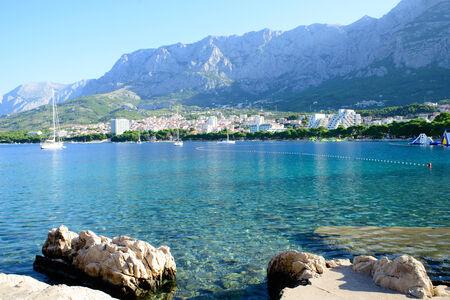 messinia: view of the sea in Croatia