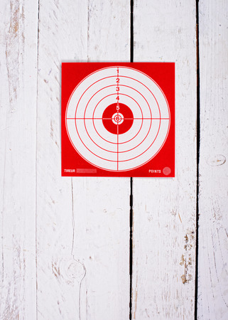 target card for precision shooting