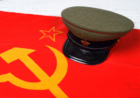 forage: cap on the flag of the Soviet Union