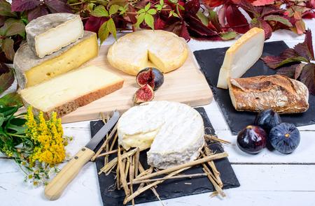 다른 프랑스 치즈와 노르망디 카망베르
