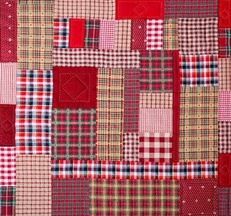 patchwork background: a patchwork background with different patterns Stock Photo