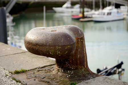mooring: a bitte mooring in the small harbour