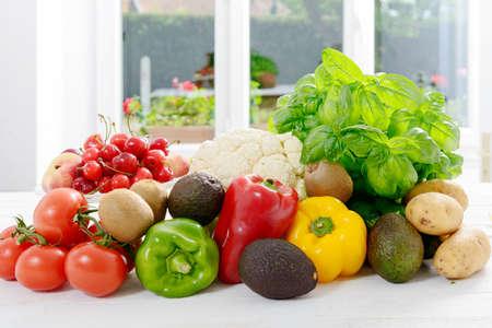 assortment: an assortment of fresh vegetables Stock Photo