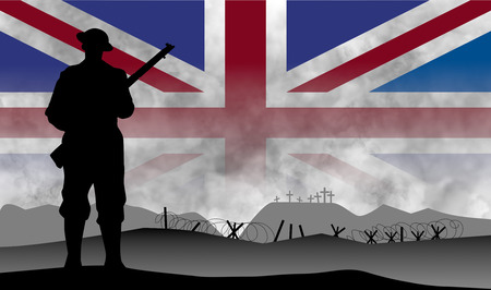 a commemoration of the centenary of the great war, England