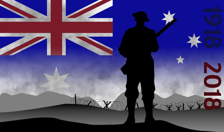 a commemoration of the centenary of the great war, Australian, ANZAC