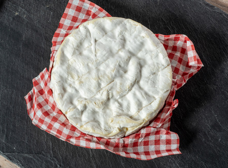a Camembert cheese traditional Normandy French, dairy product 写真素材