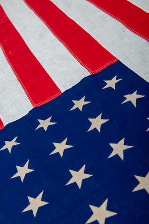 Independence day, American flag, a close-up, retro