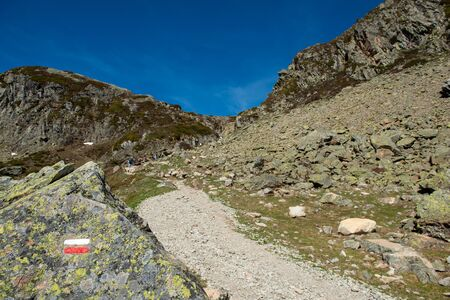 a GR footpath. In the French Pyrenees