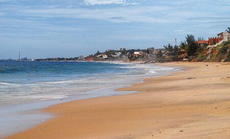 Beach of Atlantic sea, Senegal