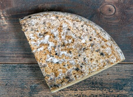 famous Tomme de Savoie, French cheese Savoy, french Alps France