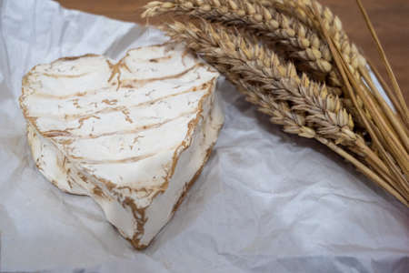 the traditional Neufchatel cheese, dairy product, France