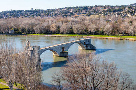 the city of Avignon, former papal city, in Provence