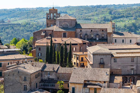 the town of Orvieto, in Umbria, Italy