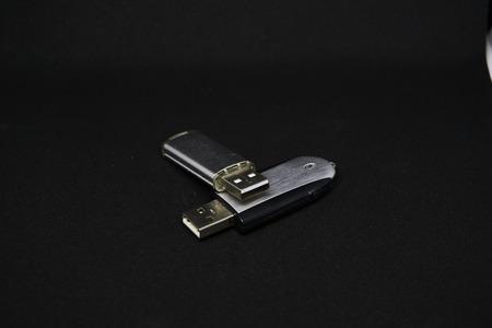 USB stick in silver