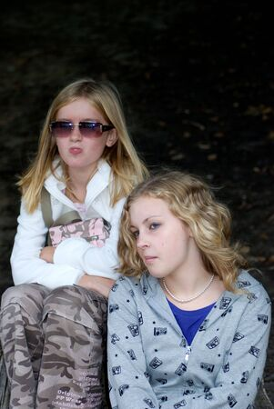 13 year old: 11 and 13 year old blond sisters