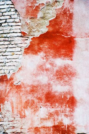 decaying: textured wall Stock Photo