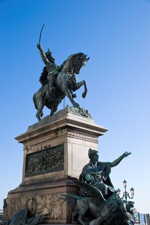 Statue héroïque Banque d'images - 4371218