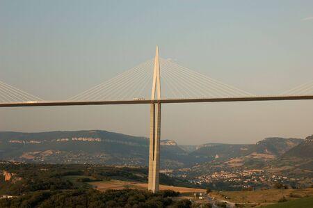 millau: The Millau Viaduct in France Editorial