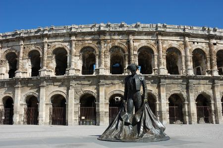 amphitheater: Roman Amphitheater, Nimes, France