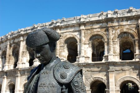roman amphitheatre: Anfiteatro romano, Nimes, Francia